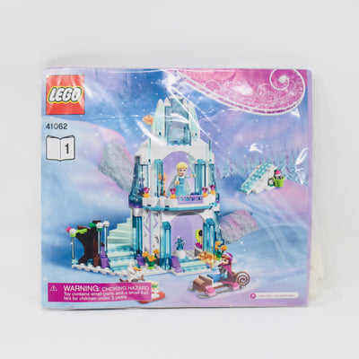 Bagged Set 41062 Frozen Elsa's Sparkling Ice Castle