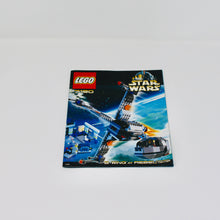 Used Set 7180 Star Wars B-Wing at Rebel Control Center