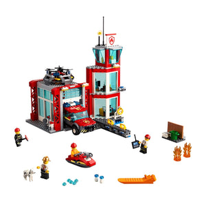 New Set 60215 City Fire Station