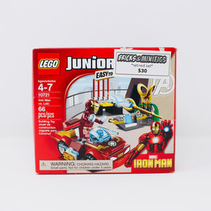Retired Set 10721 Marvel Juniors Iron Man vs. Loki