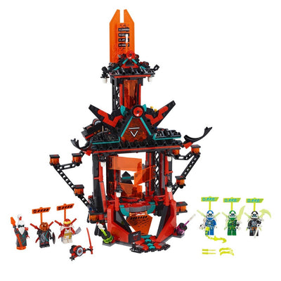 New Set 71712 Ninjago Empire Temple of Madness