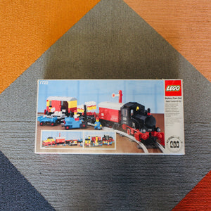 Used Set 7722 Trains Steam Cargo Train Set