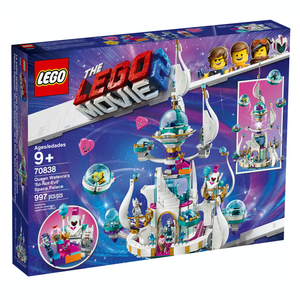 Retired Set 70838 LEGO Movie 2 Queen Whatevra's 'So-Not-Evil' Space Palace