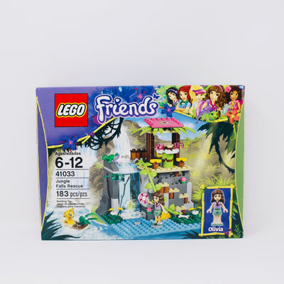 Retired Set 41033 Friends Jungle Falls Rescue
