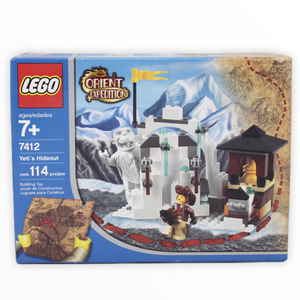 Retired Set 7412 Orient Expedition Yeti's Hideout