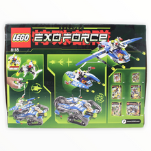 Retired Set 8118 Exo-Force Hybrid Rescue Tank