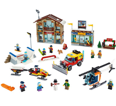 New Set 60203 City Ski Resort