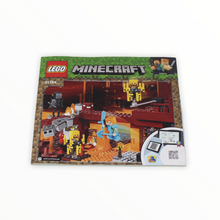 Used Set 21154 Minecraft The Blaze Bridge