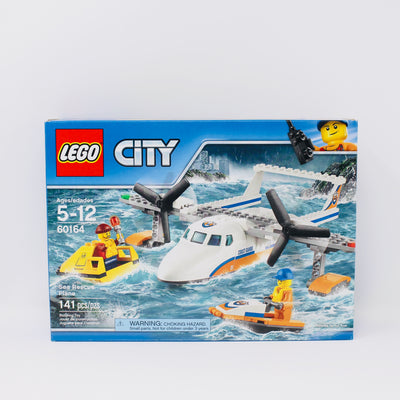 Retired Set 60164 City Sea Rescue Plane