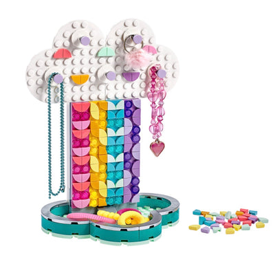 New Set 41905 DOTS Rainbow Jewelry Stand