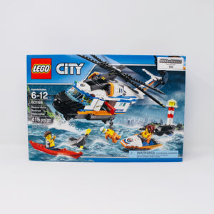 Retired Set 60166 City Heavy-Duty Rescue Helicopter