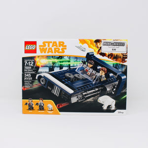Certified Used Set 75209 Star Wars Han Solo's Landspeeder