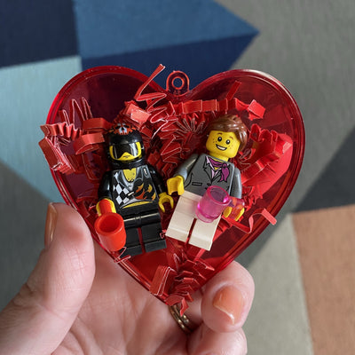 Build-a-fig Valentines Couple
