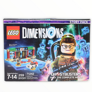 Retired Set 71242 Dimensions Story Pack - Ghostbusters: Play the Complete Movie