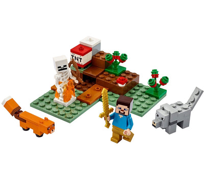 New Set 21162 Minecraft The Taiga Adventure