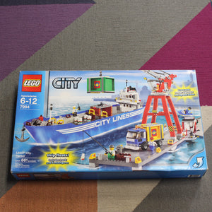Retired Set 7994 City LEGO City Harbor