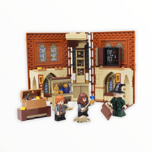 Used Set 76382 Harry Potter Hogwarts Moment: Transfiguration Class