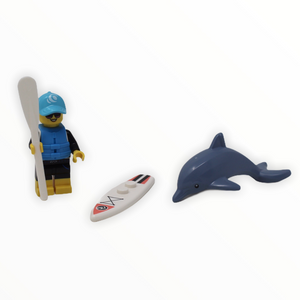 LEGO Series 21: Paddle Surfer