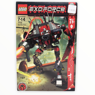 Retired Set 7702 Exo-Force Thunder Fury
