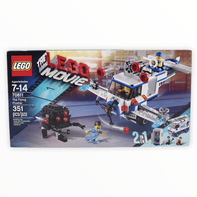 Retired Set 70811 LEGO Movie The Flying Flusher