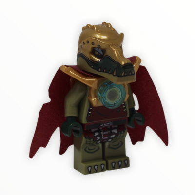 King Crominus (gold armor, tattered cape)