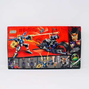 Retired Set 70642 Ninjago Killow vs. Samurai X