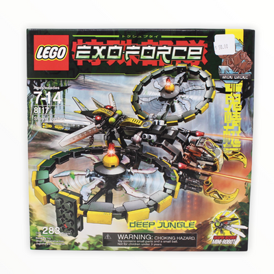 Retired Set 8117 Exo-Force Storm Lasher