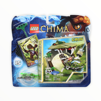 Retired Set 70112 Legends of Chima Croc Chomp