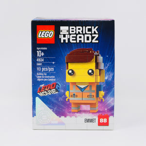 Retired Set 41634 (no. 0875/5000) LEGO Movie 2 BrickHeadz Emmet