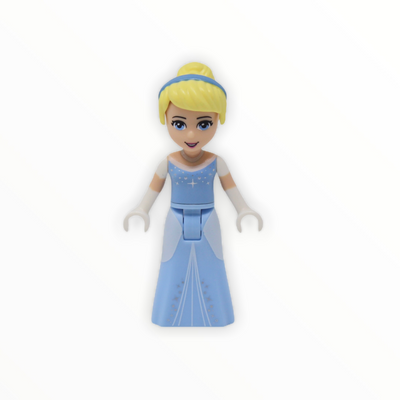 Cinderella (bright light blue dress, white gloves)