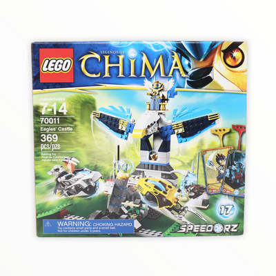 Retired Set 70011 Legends of Chima Eagles Castle