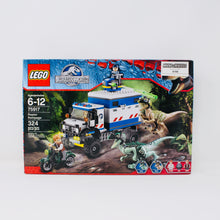 Retired Set 75917 Jurassic World Raptor Rampage