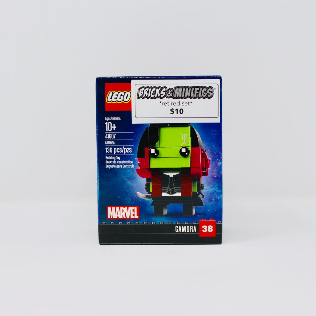 Retired Set 41607 Marvel BrickHeadz Gamora