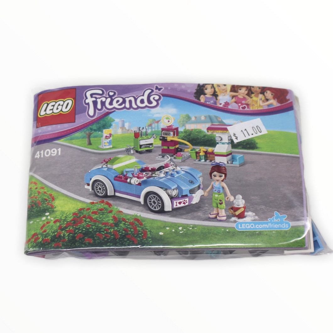 Bagged Set 41091 Friends Mias Roadster