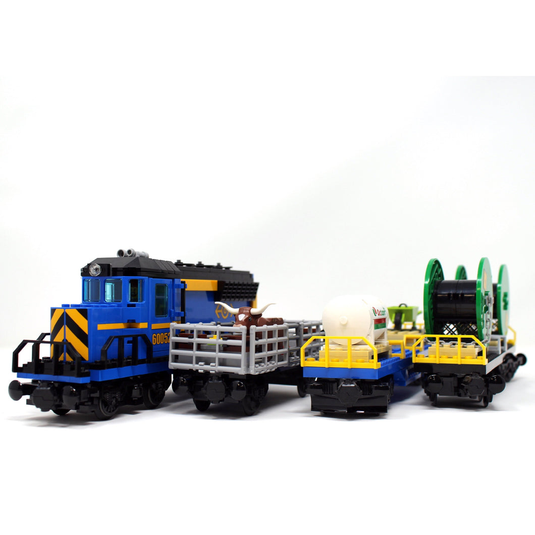 Used Set 60052 City Cargo Train