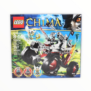 Retired Set 70004 Legends of Chima Wakz' Pack Tracker