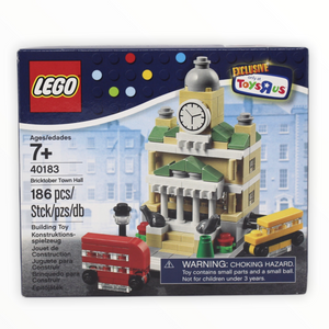 Retired Set 40183 LEGO Bricktober Town Hall