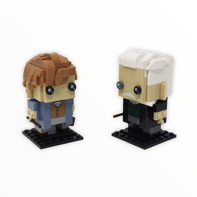 Used Set 41631 Harry Potter BrickHeadz Newt Scamander & Gellert Grindelwald