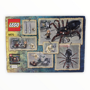 Retired Set 9470 The Lord of the Rings Shelob Attacks