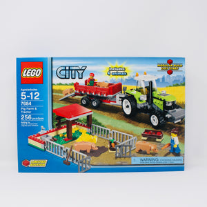 Retired Set 7684 City Pig Farm & Tractor