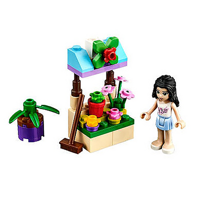 Polybag 30112 Friends Emma's Flower Stand