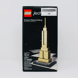 Certified Used Set 21002 Architecture Empire State Building