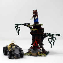 Used Set 9463 Monster Fighters The Werewolf
