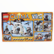 Retired Set 70226 Chima Mammoths Frozen Stronghold