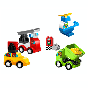 New Set 10886 DUPLO My First Car Creations