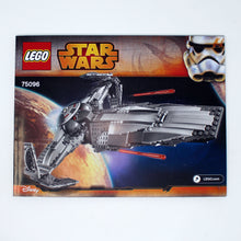 Used Set 75096 Star Wars Sith Infiltrator