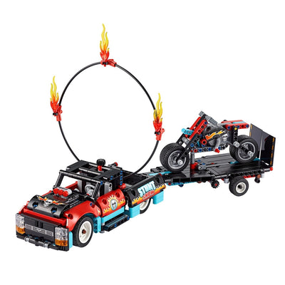 New Set 42106 Technic Stunt Show Truck & Bike