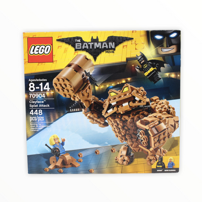 Retired Set 70904 The LEGO Batman Movie Clayface Splat Attack