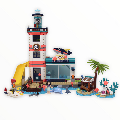 Used Set 41380 Friends Lighthouse Rescue Center