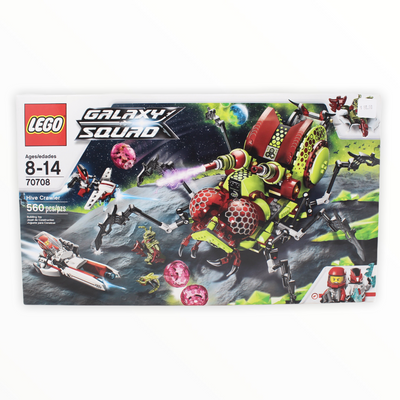 Retired Set 70708 Galaxy Squad Hive Crawler